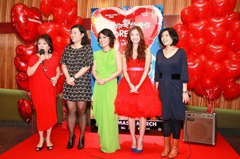 Pictured, left to right: actress Alice Lim, director Wee Li Lin, actress Joanna Dong, actress Sarah Ng, producer Silvia Wong