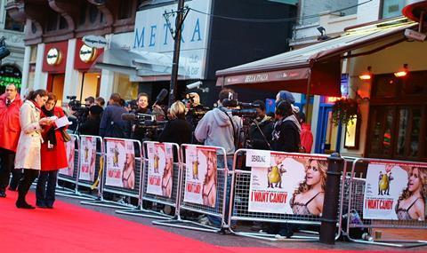 Leicester Square premiere