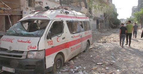 Ambulance Mohamed Jabaly