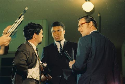 Alan Whicker Cassius Clay