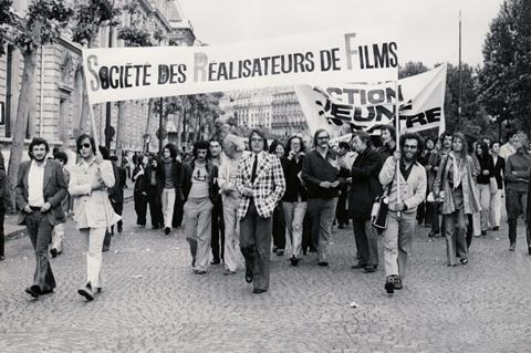 cannes protest