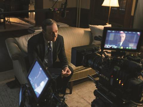 House of Cards_on set season 2