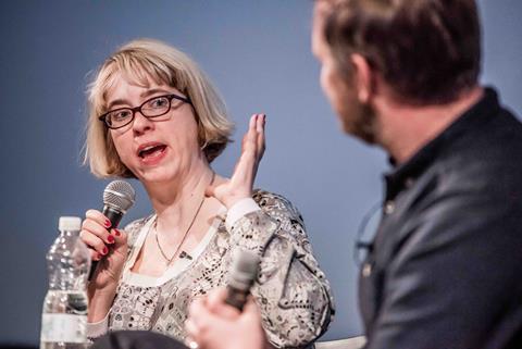 Carol Morley at This Way Up conference