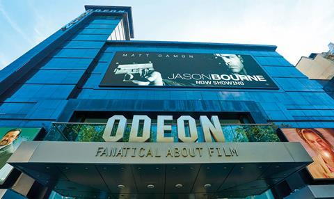 Odeon ticket prices