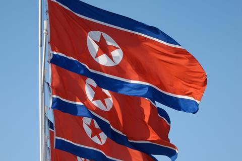 North Korea flag John Pavelka Flickr