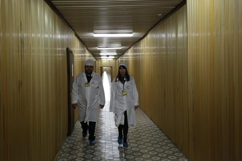 Myroslav Slaboshpytskiy visiting Chernobyl