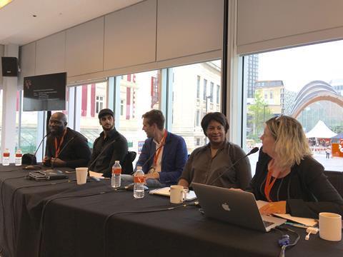 Sheffield DocFest diversity panel