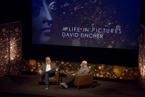 David Fincher at BAFTA