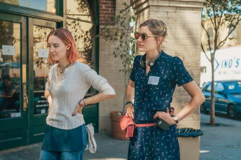 Saoirse ronan greta gerwig lady bird merie wallace courtesy of a24