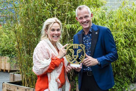 Marjan van der Haar with Bero Beyer c IFFR
