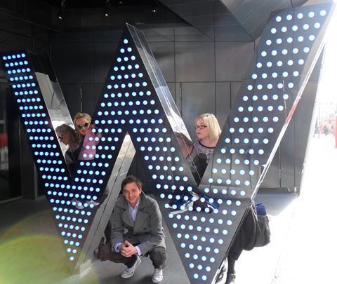 Team Screen invades the W London