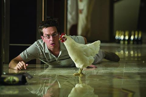 Will Ed Helms find himself in the Golden Globes pecking order for The Hangover?