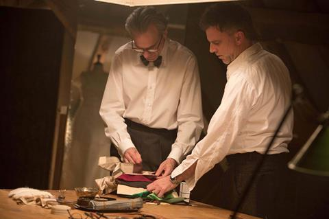Daniel day lewis and paul thomas anderson laurie sparham focus features