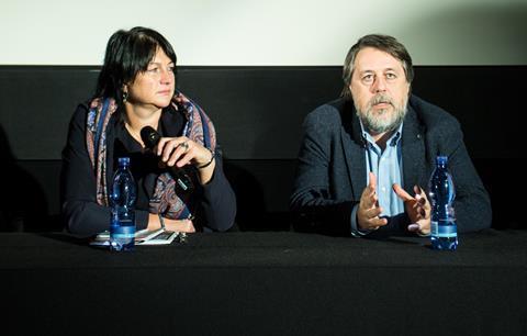 Simone Baumann and Vitaliy Manskiy