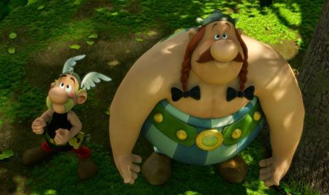 Asterix The Mansion Of The Gods