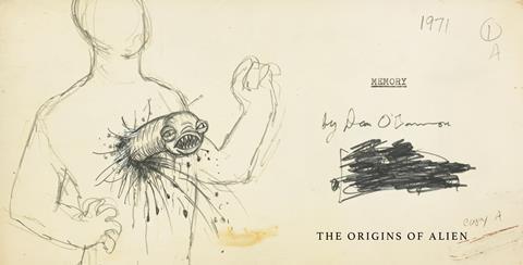 'Memory' original script and artwork
