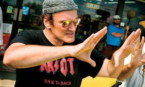Quentin Tarantino right size