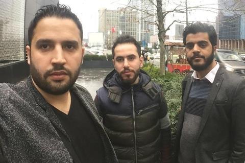 Last Men In Aleppo filmmakers