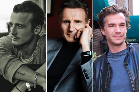 Liam Neeson, Micheál Richardson to star in James D'Arcy