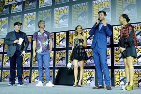 Marvel Studios Unveils Phase Four Plans At Comic Con News