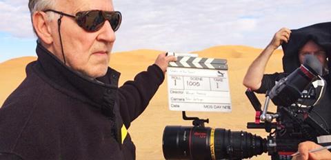 Queen of the Desert behind the scenes