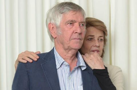 Tom Courtenay and Charlotte Rampling