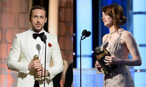 Golden Globes la la land