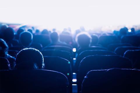 Cinema audience adobe stock