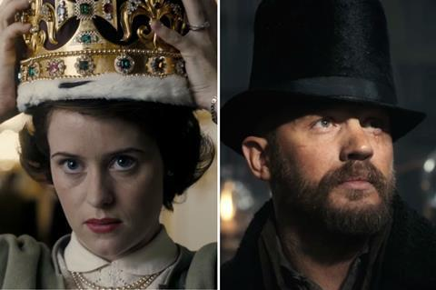 the crown taboo c netflix bbc1
