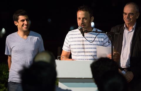 Yona Rozenkier and producer Kobi Mizrahi
