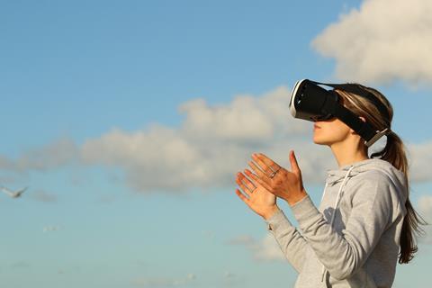 Virtual reality vr c creative commons