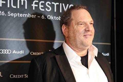 Harvey Weinstein in Zurich