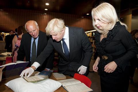 Boris Johnson, Greg Dyke and Amanda Nevill
