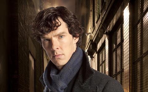 Benedict Cumberbatch in Sherlock
