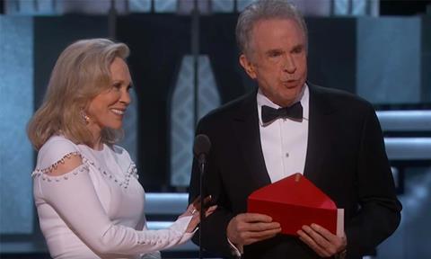 Oscars gaffe