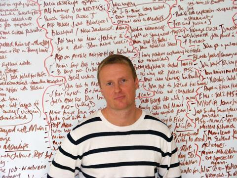 writer Matt Greenhalgh