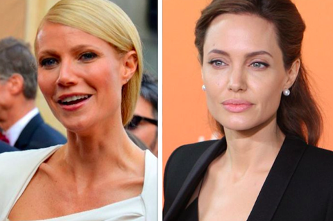 Gwyneth Paltrow, Angelina Jolie