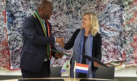 South Africa Netherlands film treaty