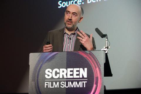 Sean Perkins BFI Screen Film Summit