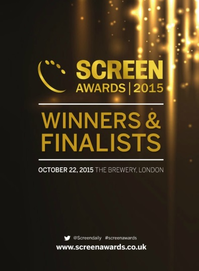 Screen Awards brochure 2015