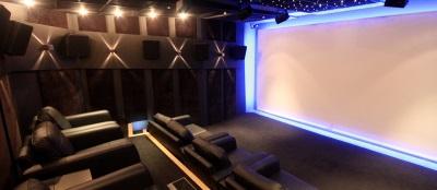Ymagis London screening room