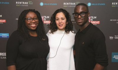 Matimba Kabalika, Deborah Sathe, Femi Oguns Screen Film Summit