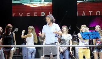 Emir Kusturica in concert