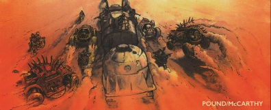 Mad Max Fury Road concept image 4
